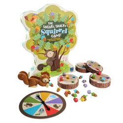 The Sneaky, Snacky Squirrel Colour Matching Game - by Educational Insights