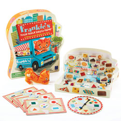 Frankie's Food Truck Fiasco Shape Matching Game - by Educational Insights
