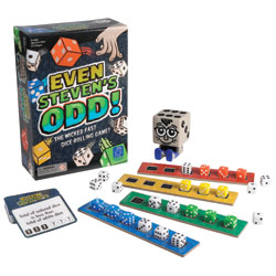 Even Steven's Odd! Dice Rolling Challenge - by Educational Insights