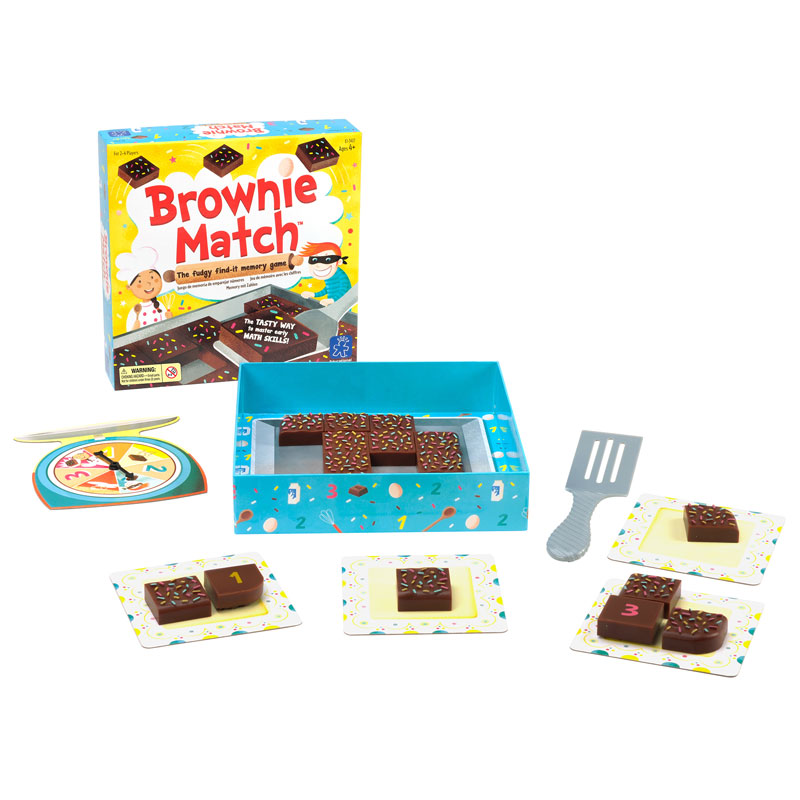 Brownie Match Memory Game - by Educational Insights - EI-3417