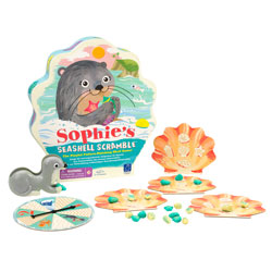 Sophie's Seashell Scramble Pattern Matching Game - by Educational Insights