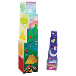 Bright Basics Nest & Stack Cubes - by Educational Insights