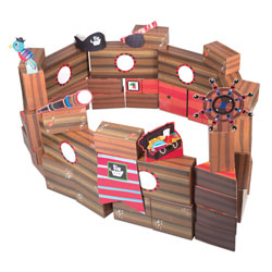 PlayBrix Pirate Adventure - by Educational Insights