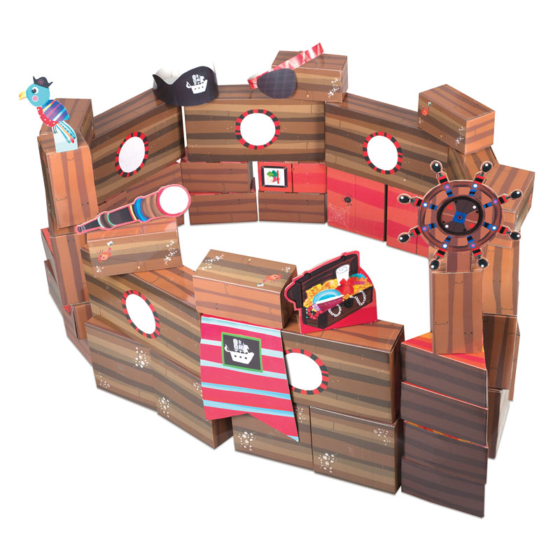 PlayBrix Pirate Adventure - by Educational Insights - EI-3663