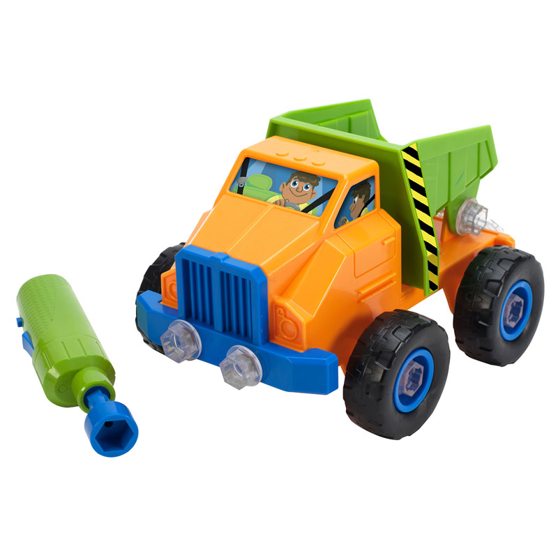 Design & Drill Power Play Vehicles Dump Truck - by Educational Insights - EI-4129