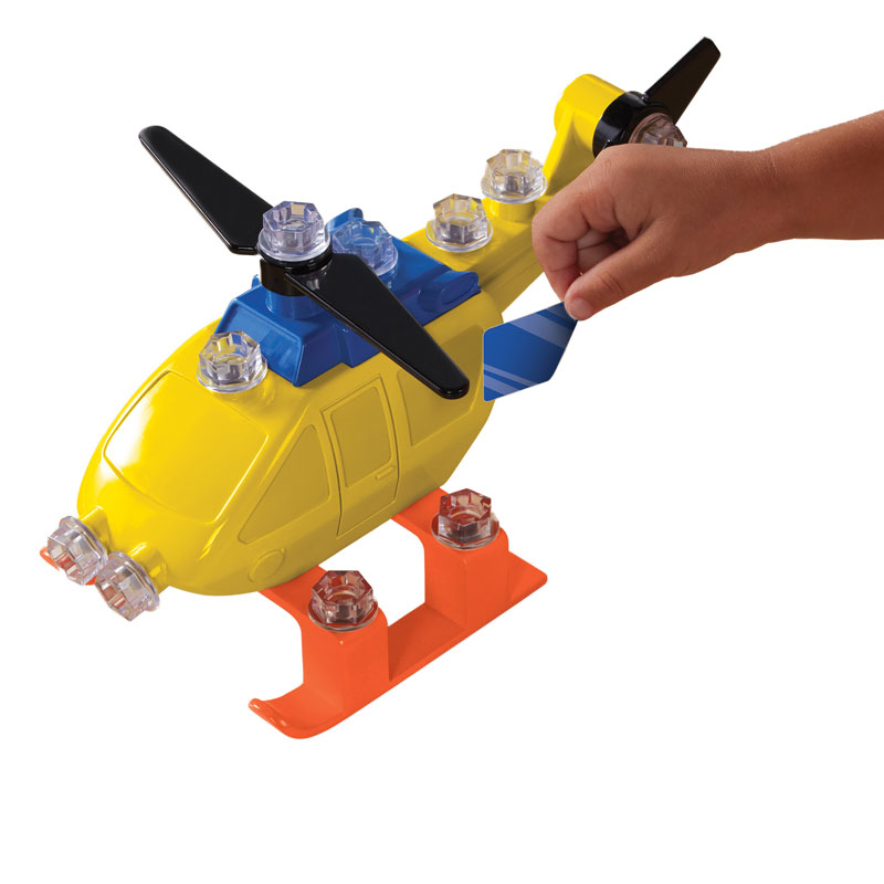 Design & Drill Power Play Vehicles Helicopter - by Educational Insights - EI-4130