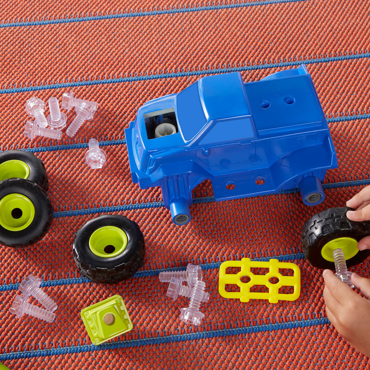 Design & Drill Power Play Vehicles Monster Truck - by ...