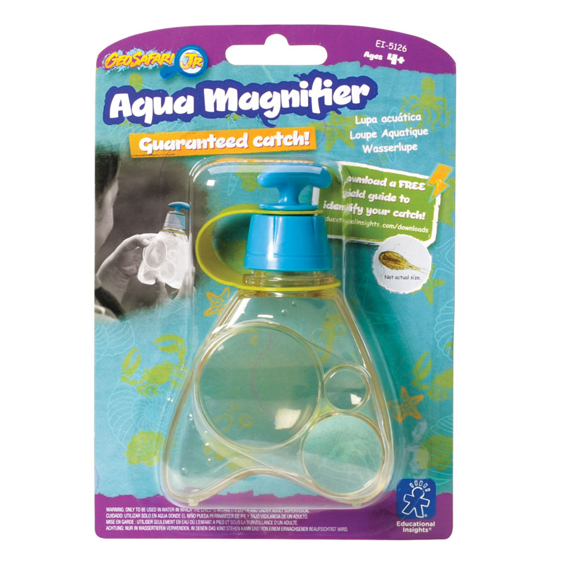 GeoSafari Jr. Aqua Magnifier - by Educational Insights - EI-5126