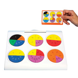 Fraction Pie Puzzles - by Educational Insights