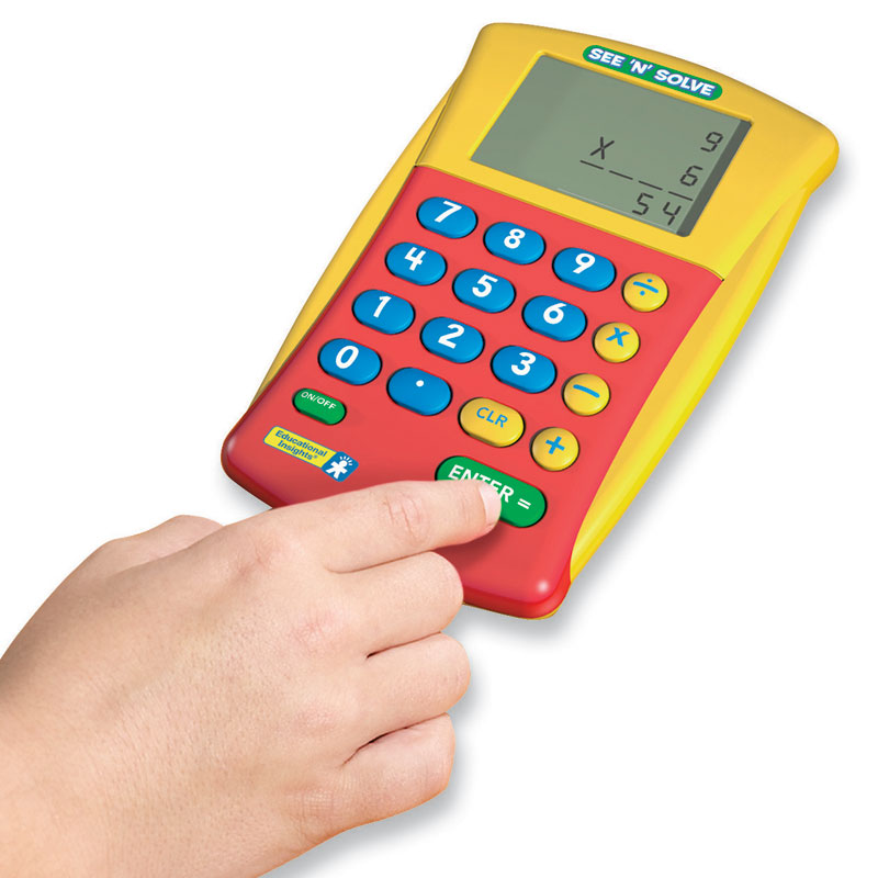See 'n' Solve Visual Calculator - by Educational Insights - EI-8480