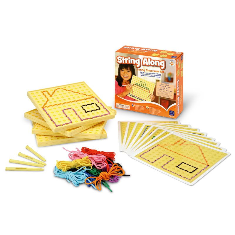 String-Along Lacing Classroom Set - by Educational Insights - EI-9279