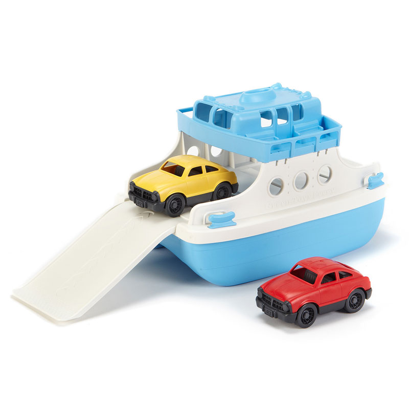 Green Toys Ferry and Cars - GT-FRBA
