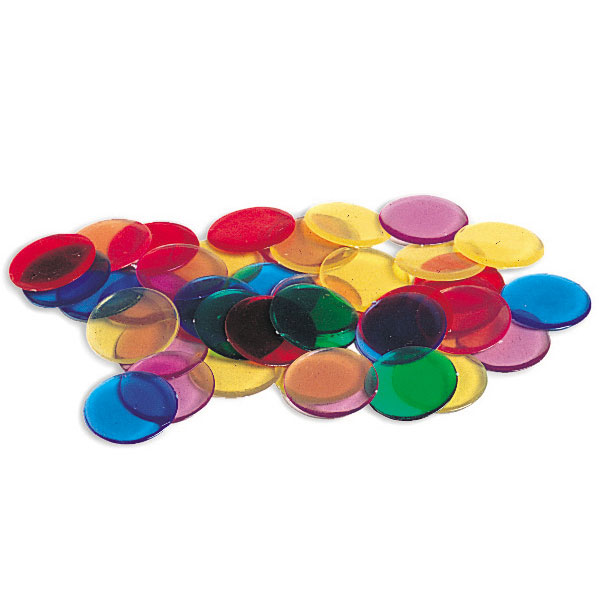 Transparent Counters - Set of 250 - by Learning Resources - LER0131