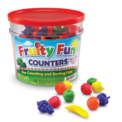 Fruity Fun Counters - Set of 108 - by Learning Resources