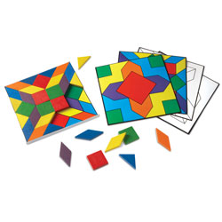 Parquetry Blocks & Cards Set - by Learning Resources