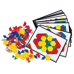 Pattern Block Activity Set - by Learning Resources