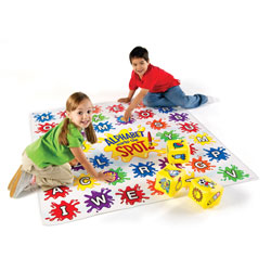 Alphabet Marks the Spot Activity Set - Set of 34 Pieces - by Learning Resources
