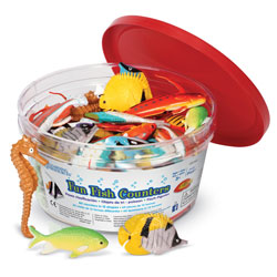 Fun Fish Counters - Set of 60 - by Learning Resources