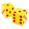 Giant Soft Dot Cube Dice - Set of 2 - by Learning Resources