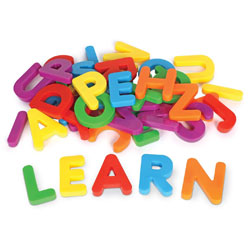 Jumbo Magnetic Uppercase Letters - by Learning Resources