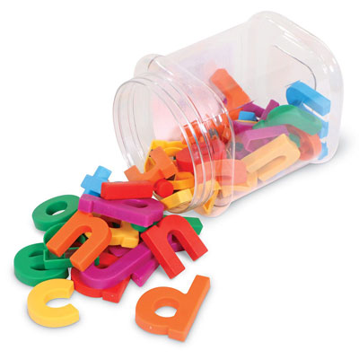 Jumbo Magnetic Lowercase Letters - Set of 40 - by Learning Resources - LER0451