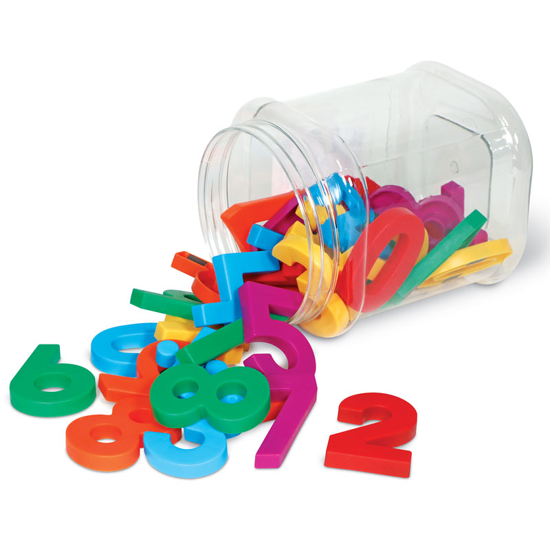 Jumbo Magnetic Numbers - Set of 36 - by Learning Resources - LER0452