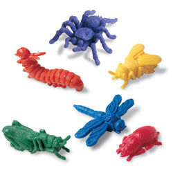 Backyard Bugs Counters - Set of 72 - by Learning Resources