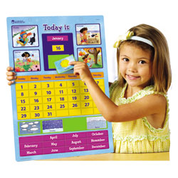 Magnetic Learning Calendar - by Learning Resources
