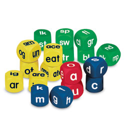 Soft Foam Phonics Cubes Set - Set of 18 - by Learning Resources