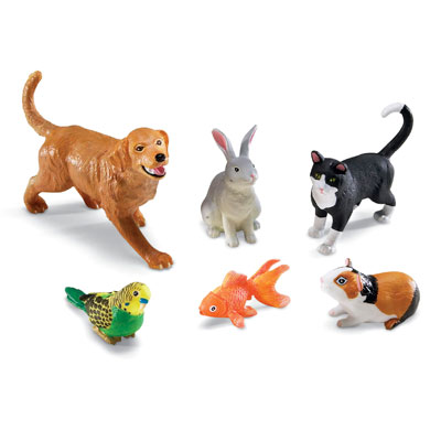 Jumbo Pets - Set of 6 - by Learning Resources - LER0688