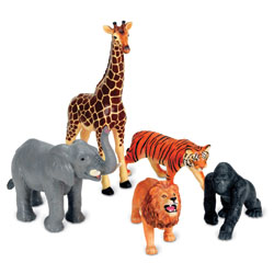Jumbo Jungle Animals - by Learning Resources