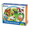 Jumbo Farm Animals - by Learning Resources - LER0694