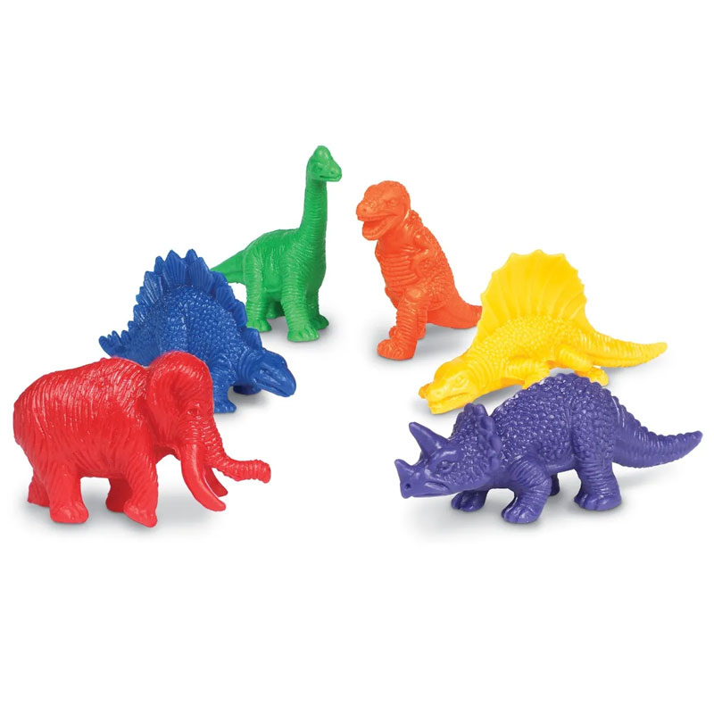 Mini Dino Counters - Set of 108 - by Learning Resources - LER0710