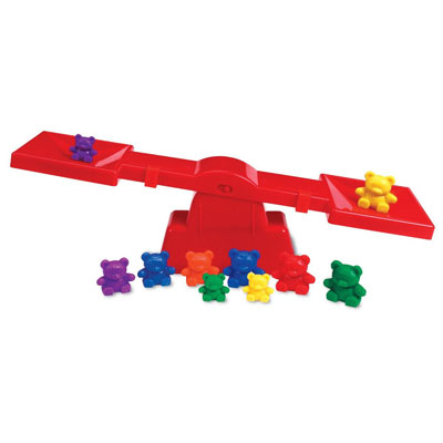 Three Bear Family Beginner's Balance Set - by Learning Resources - LER0740