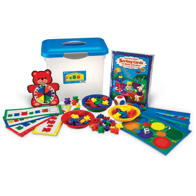 Three Bear Family Sort, Pattern & Play Set - by Learning Resources - LER0757