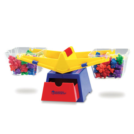 Three Bear Family Primary Bucket Balance - by Learning Resources - LER0779