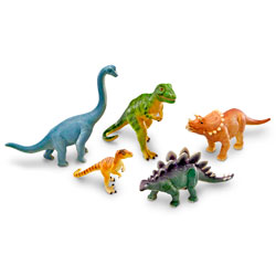 Jumbo Dinosaurs Set 1 - Set of 5 - by Learning Resources