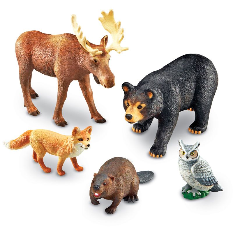 Jumbo Forest Animals - by Learning Resources - LER0787