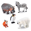 Jumbo Zoo Animals - by Learning Resources - LER0788