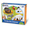 Jumbo Zoo Animals - Set of 5 - by Learning Resources - LER0788