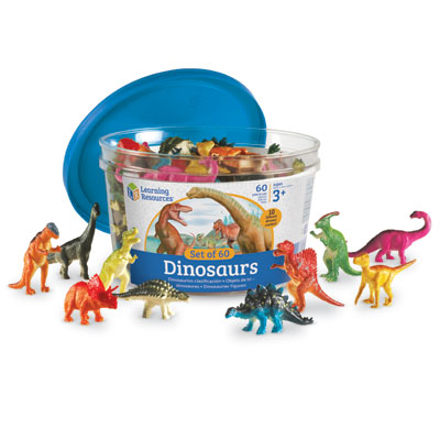 Dinosaur Counters - Set of 60 - by Learning Resources - LER0811