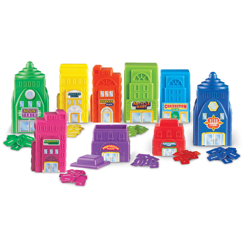 Sentence Buildings Parts of Speech Activity Set - by Learning Resources - LER0812