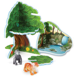 Jumbo Jungle Playset - by Learning Resources