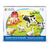 Jumbo Farm Animals: Mommas and Babies - by Learning Resources - LER0835