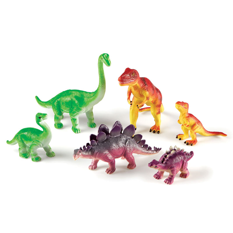 Jumbo Dinosaurs: Mommas and Babies - by Learning Resources - LER0836