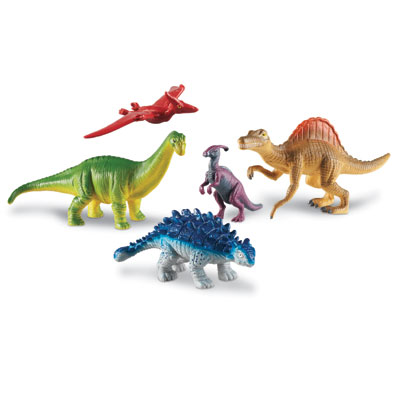 Jumbo Dinosaurs Set 2 - by Learning Resources - LER0837