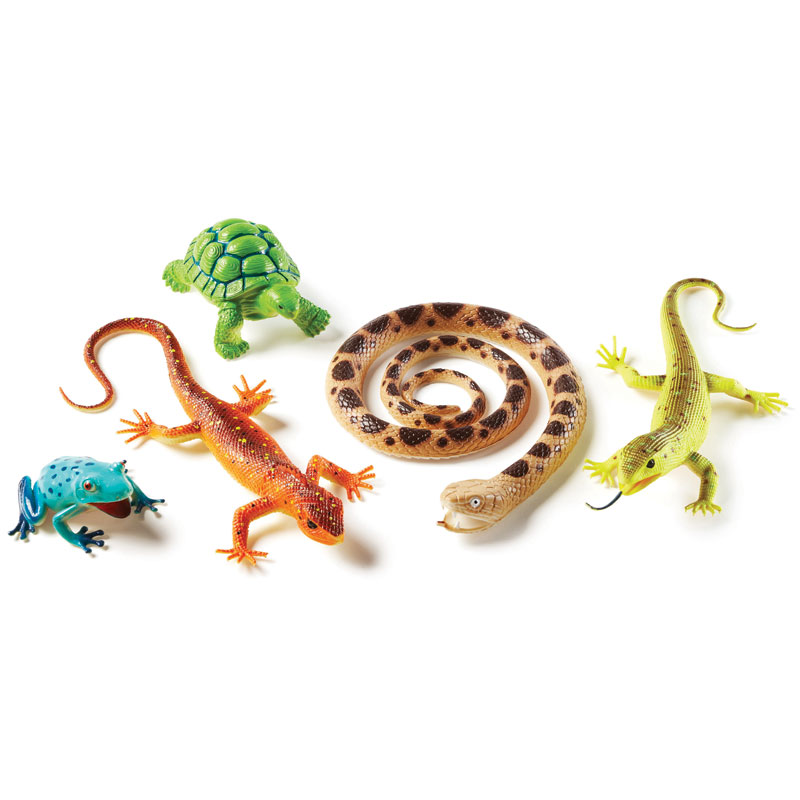 Jumbo Reptiles & Amphibians - by Learning Resources - LER0838