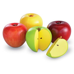 Magnetic Apple Fractions - by Learning Resources