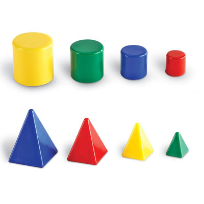 Mini Relational GeoSolids - Set of 32 - by Learning Resources - LER0913