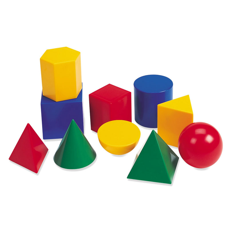 Large Plastic Geometric Shapes - by Learning Resources - LER0922